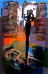 Indalo Man, akrilik na platnu,95 x 62 cm, 2011.